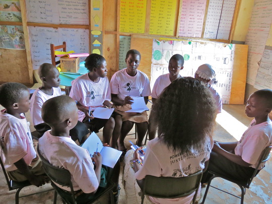 Peer Mentors Make Plans for Camp Girl Power 2013!