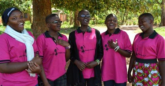 Superstar Girl Power Mentors Facilitate Camp!