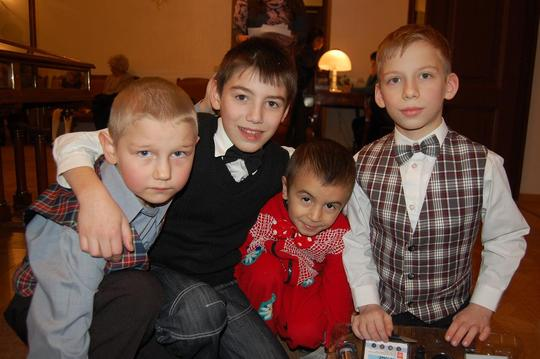 Foster Family Support for 50 Children in Russia