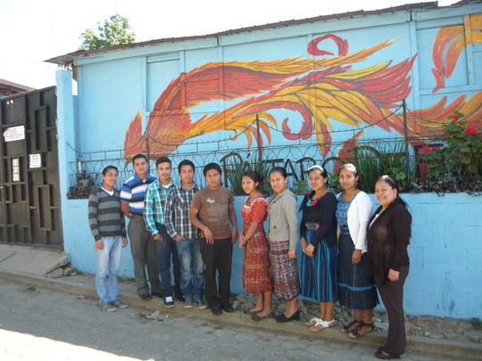 Our local teachers in Itzapa
