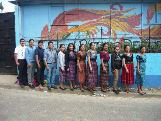 Local teachers in Itzapa