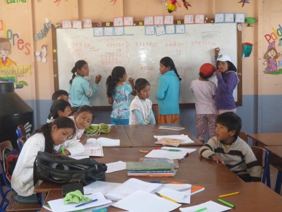 Summer school in Peru