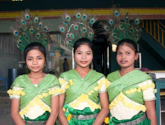 Girls from PIO Apsara Class