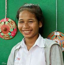 Girl Student at PIO