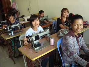 Dressmaking training