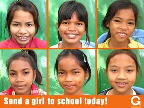 Change the life of a girl in Cambodia