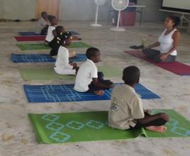 M&S Yoga Class