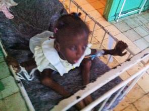 Lyvia at Cap Haitien Hospital April 13th 2015