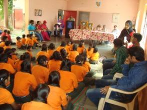 Gandhi Jayanti celebrated on 2nd Oct.