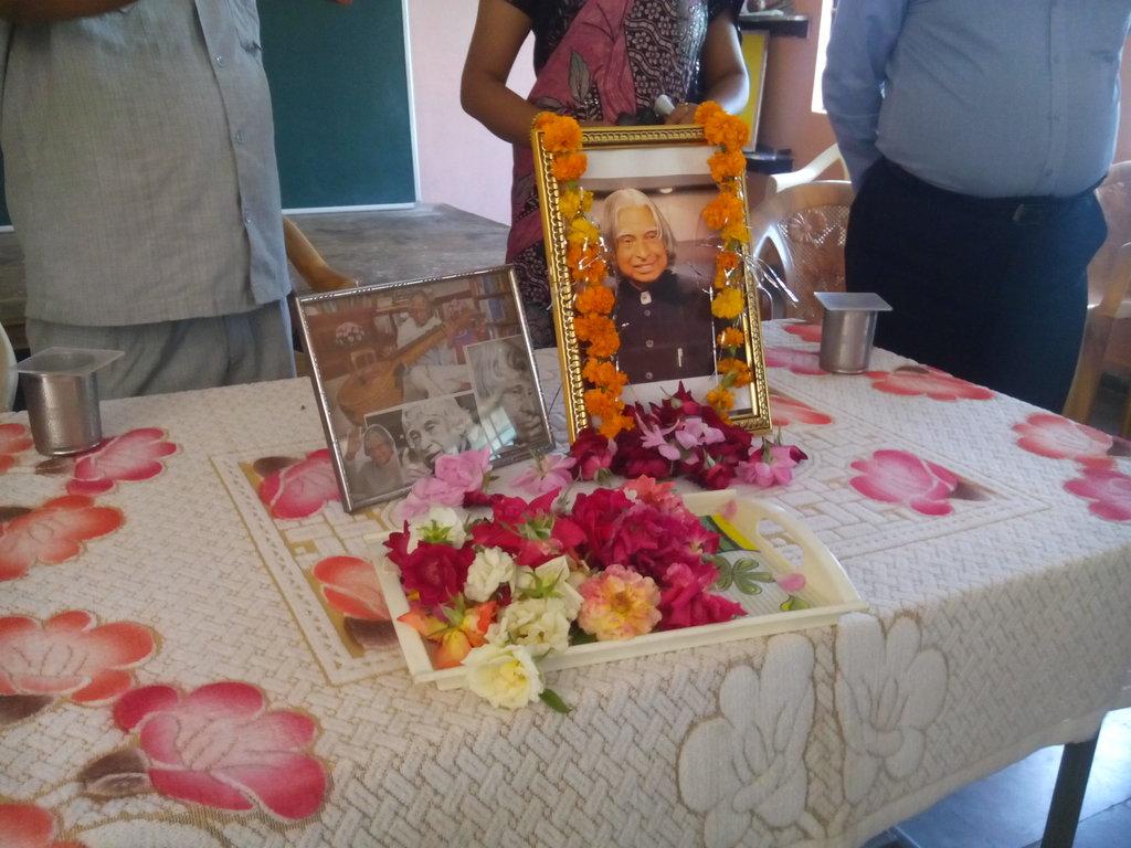 Shradhanjali to Dr. APJ Abdul Kalam