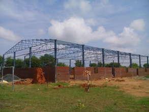 Multipurpose Hall under construction