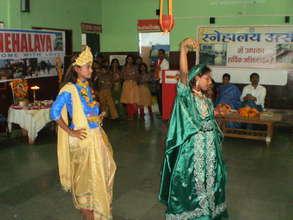 Our children playing Janmashtami