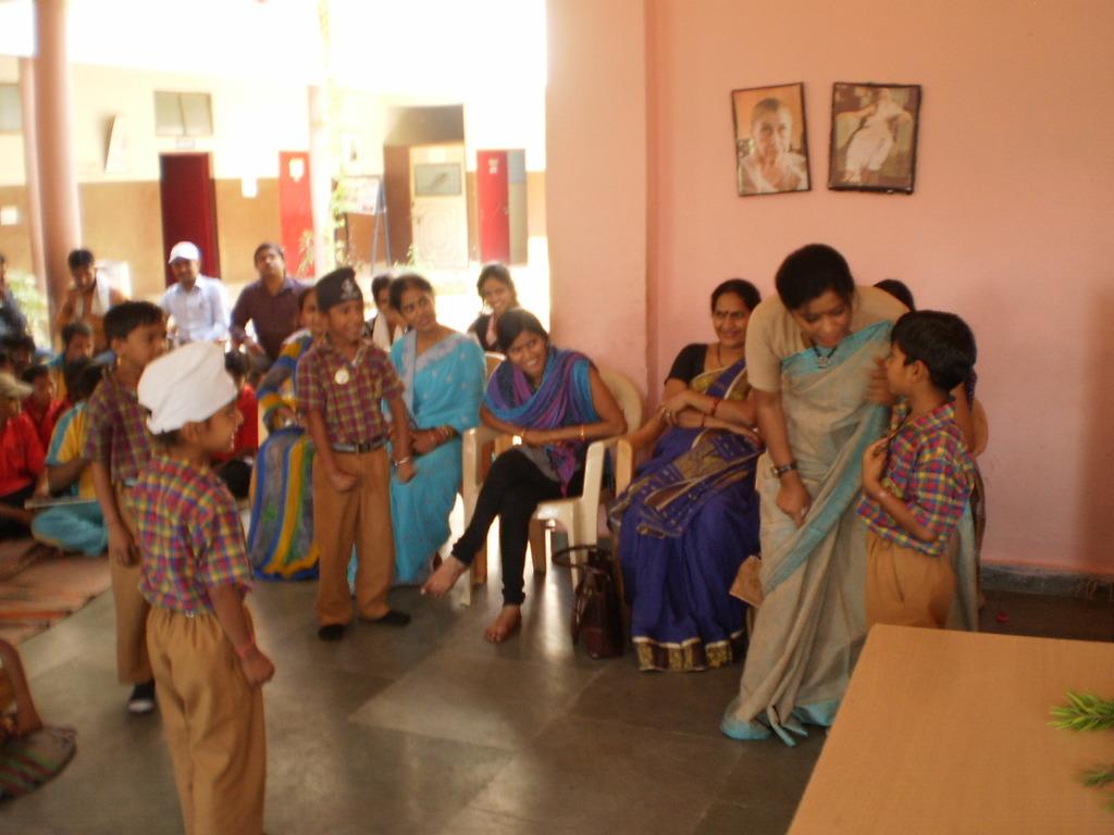 Dr. Geeta Narahari, Psychologist interacting
