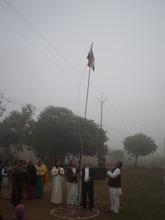 Flag Hoisting on Republic Day