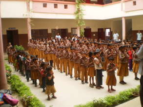 School to Educate Girls from Villages in India