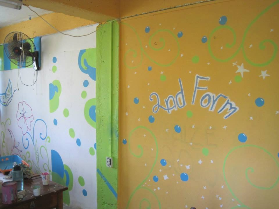 Form II classroom - student design and paint job