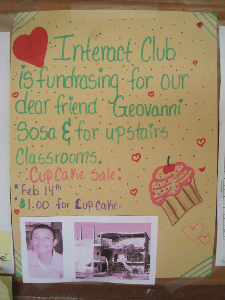 Interact Club Fundraiser