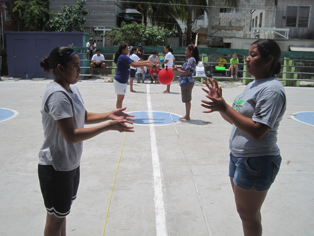 Sports Day - Water balloon toss