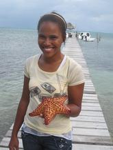 I'sha and cushion sea star
