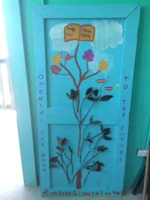 Open the Door - Malala Art Project