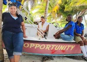 10 Belizean girls, 10 journals, 10 FLC dreams