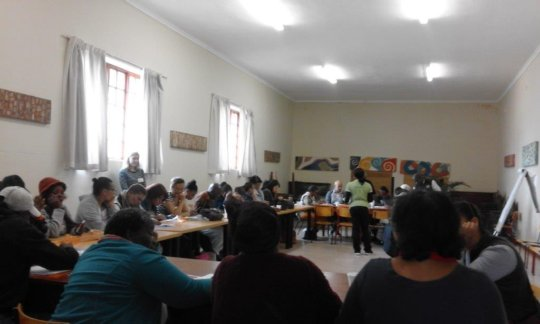 16 days of activism training