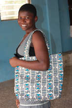 Denicia Modeling an ABAN Purse