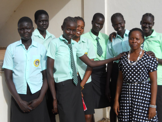 Unleash the leaders: 400 girls in South Sudan
