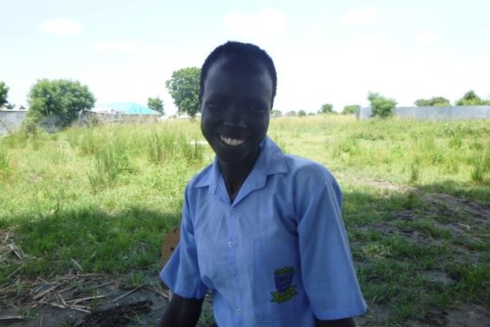 Abuk, now working for us in South Sudan