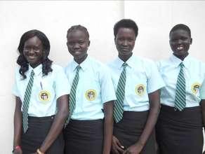 Malek Academy girls