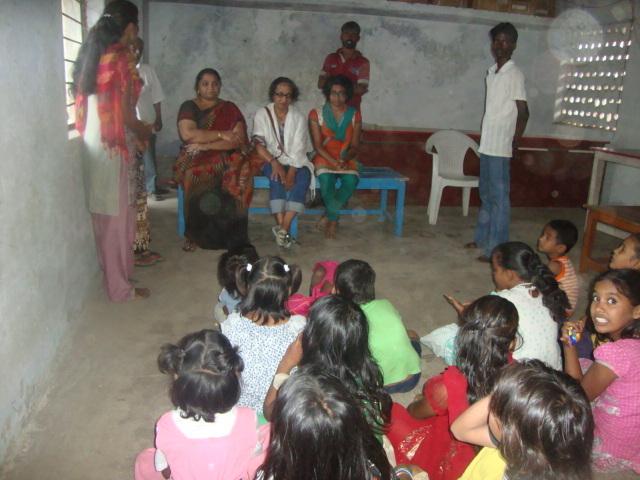 With the narikuravar children