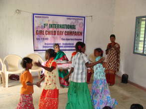 International Girl Child day at Denkannikottai