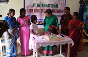 Sustenance to the Tribal Girl in Tamil Nadu