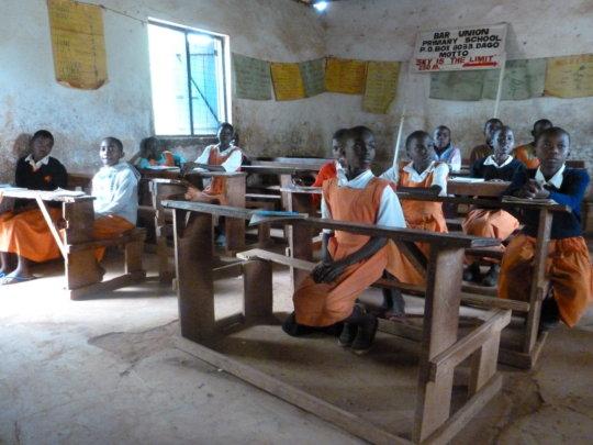 Girls at Bar Union Primary School