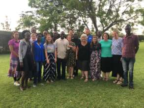 Interns, North United Methodist Group, and alumni