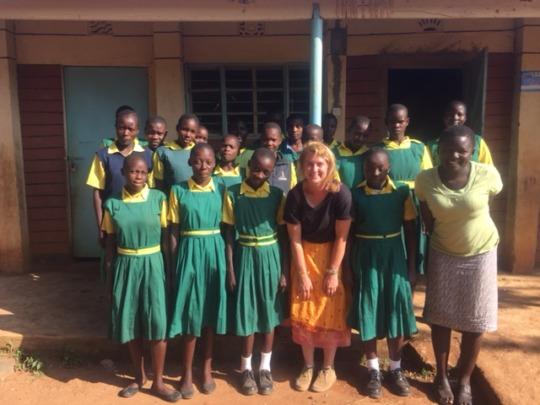 GET UP girls at Kawino Primary School