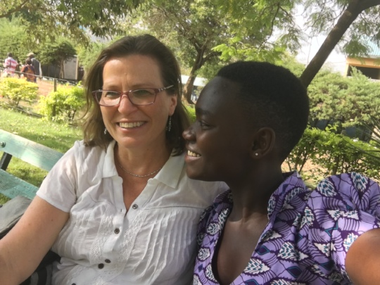 Sharon and Denise chat about Umoja Project