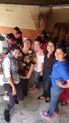 HP volunteers sharing their knowledge with us!
