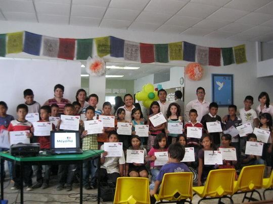 2nd generation of children in Mayama