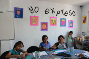 """I express"" area"