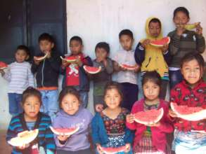 Food & fruit for 1,000 children in Latin America