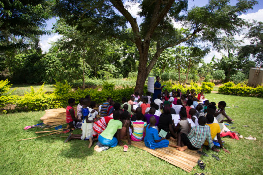 Shanti Uganda's Teen Girl's Workshop