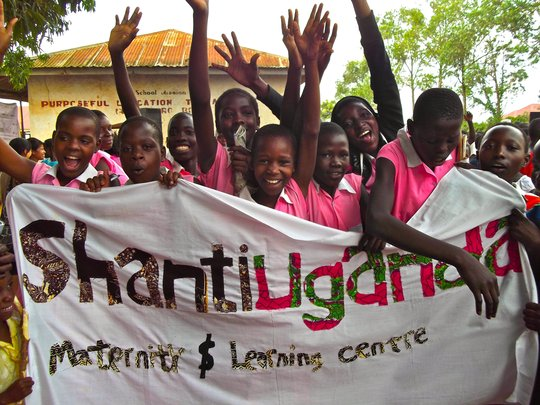 Teen girls celebrate Shanti Sexual Health Day