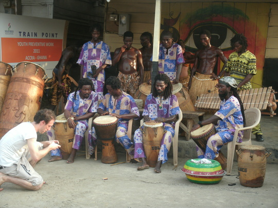 drummers ready to go