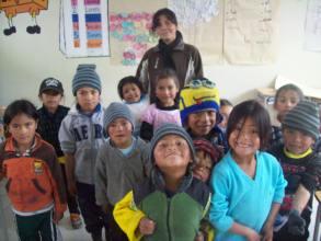 Local teacher in Ecuador