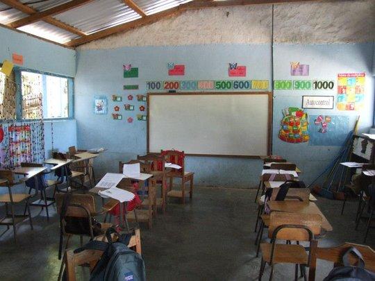 Classroom ready in Honduras