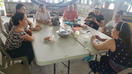 Teacher meeting in Honduras