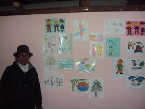 One of our teachers in Ecuador