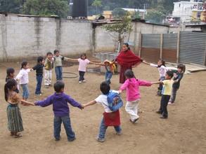 Local teacher in Guatemala