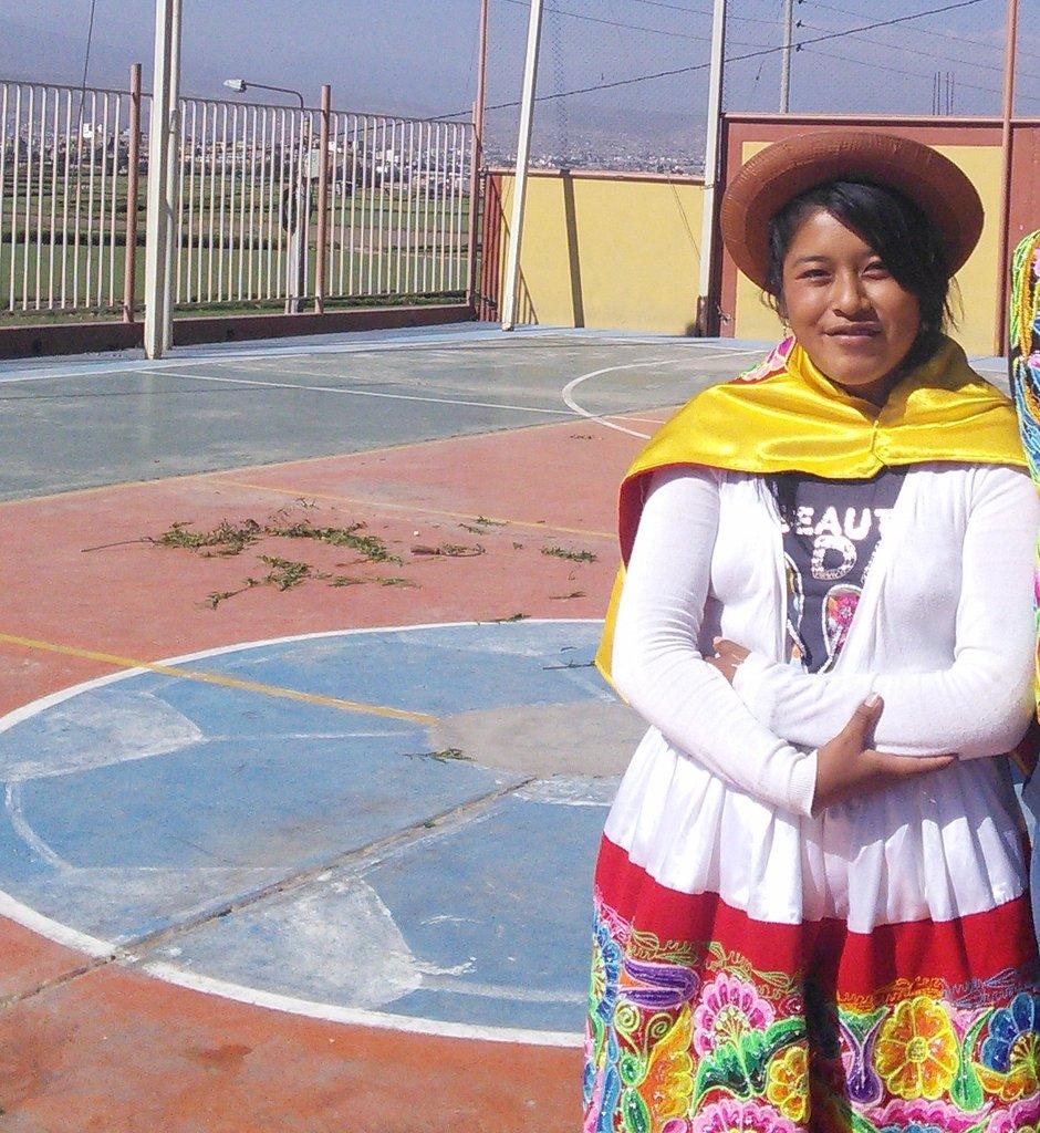 Elizabeth in Peru